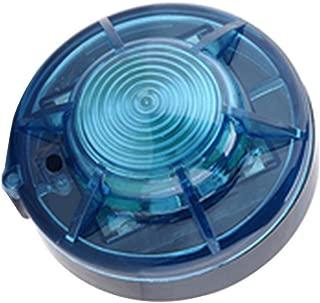 Roadside Flashing Flares Safety Warning Light Emergency LED Strobe Light with Magnetic Base for Vehicle and Marine (Blue)