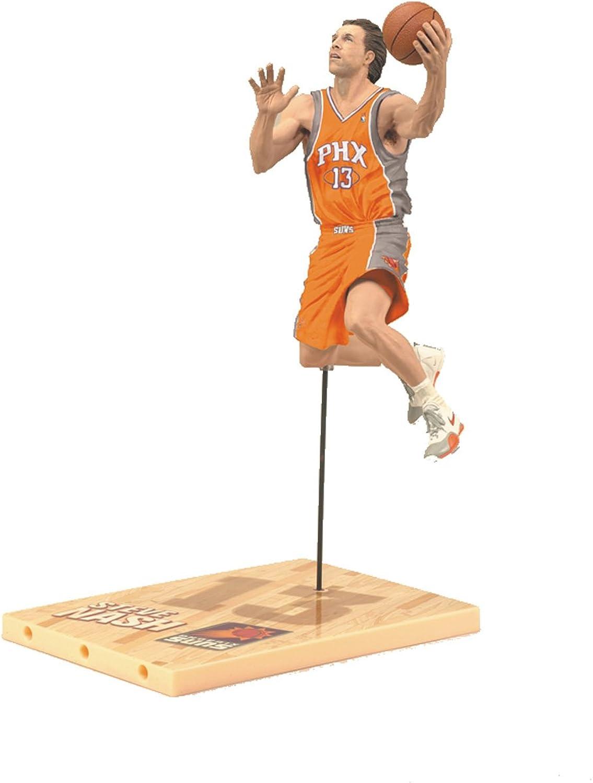 hasta un 60% de descuento McFarlane Juguetes NBA Series 19 Steve Steve Steve Nash 3 Acción Figura  calidad auténtica