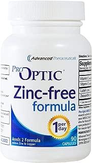 Pro-Optic AREDS 2 (ZINC-Free) Formula (3 Month Supply) 1-Per-Day