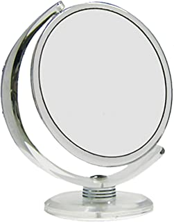 Rucci Normal View Acrylic Stand Mirror, 10X