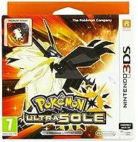 Include: versione fisica Pokémon Ultra Sole + Steelbook Una nuova avventura Pokémon ambientata nel mondo di Pokémon Sole, con nuovi Pokémon, avvincenti risvolti narrativi e nuove funzioni di gioco
