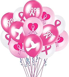 Breast Cancer Awareness Balloons Pink Ribbon Party Decoration Supplies Balloons