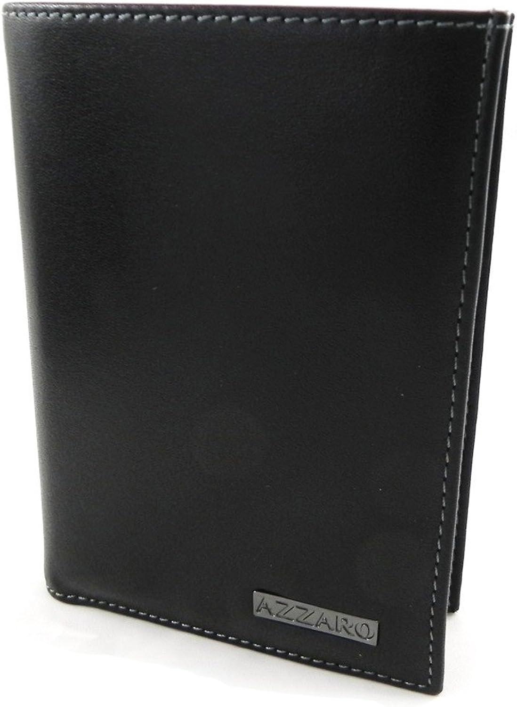 Azzaro [H9718]  Checkbook holder 'Azzaro' black.