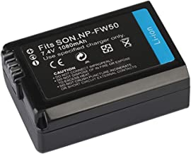 Battery Pack for Sony Alpha a3000, a3500, a5000, a5100, a6000, a6300, a6500 Mirrorless Digital Camera