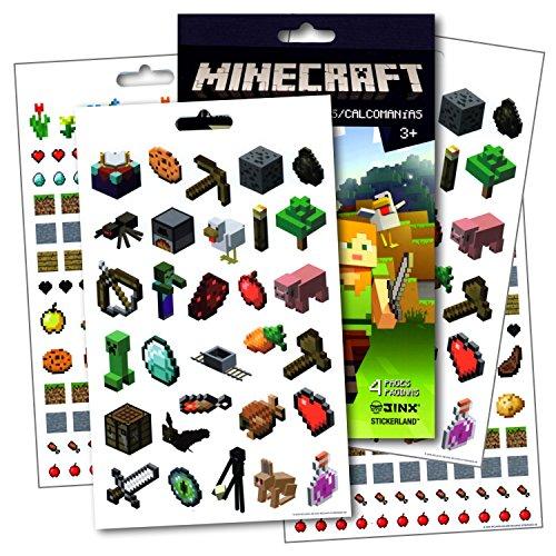 Minecraft Stickers ~ Over 295 Minecraft Fun Stickers