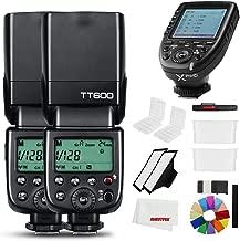 Godox TT600 - Flash inalámbrico para cámara Canon Nikon Pentax Olympus Fujifilm (2,4 G, con gatillo Integrado)