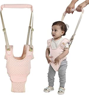 Handheld Baby Walking Harness for Kids, Adjustable Toddler Walking Assistant with Detachable Crotch, Safe Standing & Walk Learning Helper for 8+ Months Baby