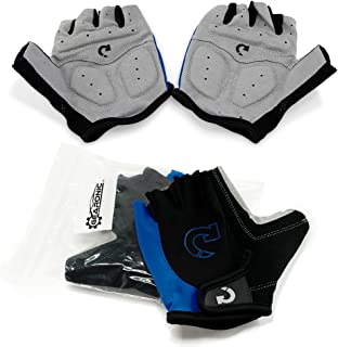 GEARONIC Cycling Shockproof Foam Padded Sports Full...