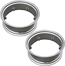Two (2) 10X28 6-Loop Wheel Rims for Ford AC John Deere IH International Utility and Others