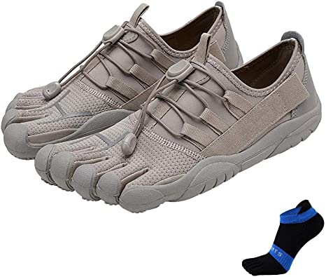 Zapatillas con cinco dedos para hombre, transpirables, para ...