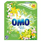 Omo Lessive en Poudre Lilas Blanc & Ylang Ylang 50 Lavages
