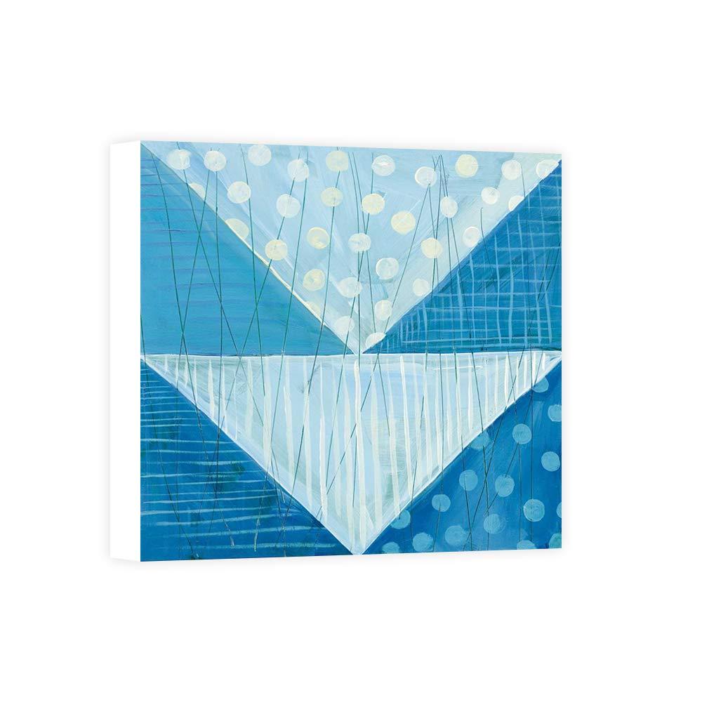 Impresión sobre Lienzo Wall Art Averinos Melissa Modern Americana IX Blue: Amazon.es: Hogar