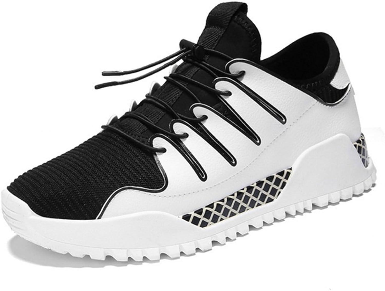RENMEN Frühling Sommer Freizeitschuhe Herrenschuhe Mode atmungsaktive Gezeiten Schuhe 39-43, Weiß