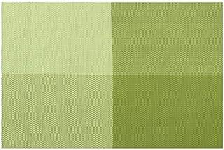 JIAYAN Table de Salle à Manger en Ardoise de Luxe, Table à Manger en Noir et Blanc, Vert, rectangulaire
