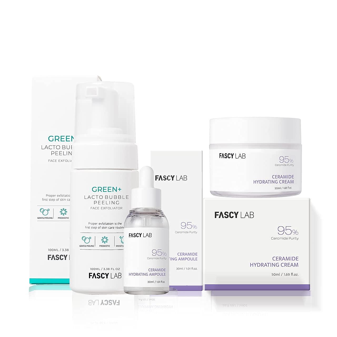 Fascy Lab Korean Skin Super-cheap Care Time sale Treatment S Set — Ceramide Hydrating