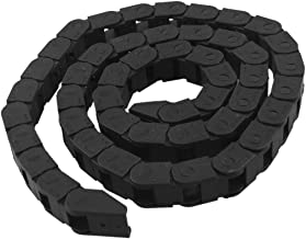 RilexAwhile 10 x 10mm Semi Enclosed Type Plastic Towline Machine Tool Cable Carrier Drag Chain Nested (10mm x 10mm)