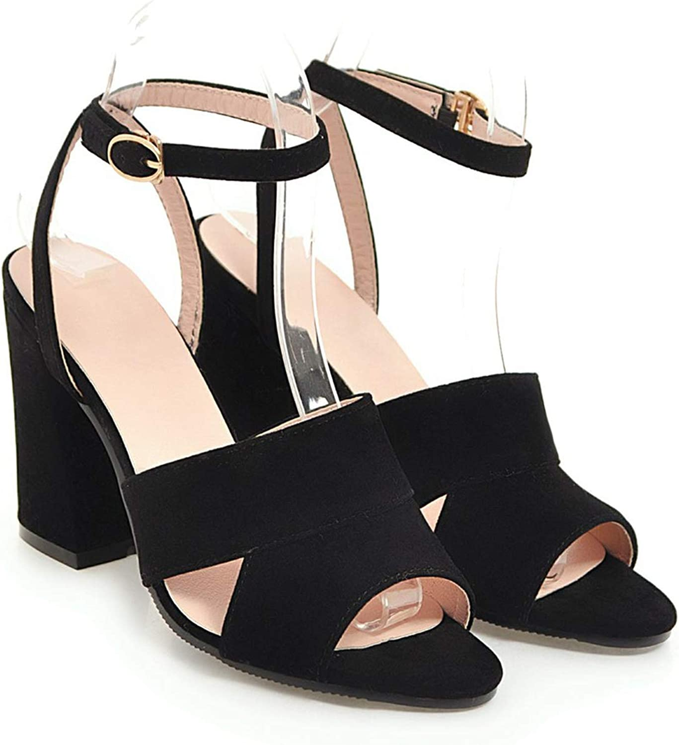 Mo Duo 2019 New Sexy Ankle Strap Women Sandals high Heels Sandals peep Toe Summer Women shoes