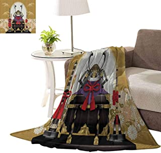 williamsdecor Ultra Plush Christmas Throw Blankets, Archer Cemetery Flower Pattern Design Blanket Soft Throw Blanket Super Cozy Lightweight Blanket, 30x40 Inch