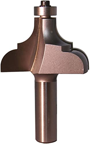 new arrival Whiteside wholesale Router Bits 3282 online sale Cove and Bead Bit with 2-Inch Large Diameter and 1-3/16-Inch Cutting Length sale