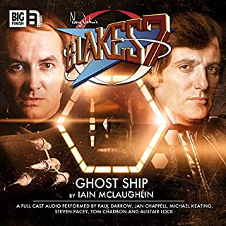 Blake's 7 2.4 Ghost Ship cover art
