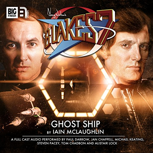 Blake's 7 2.4 Ghost Ship audiobook cover art