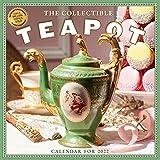 Collectible Teapot & Tea Wall Calendar 2022