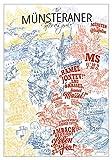 lieferlokal Städteposter (Münster, Ohne Rahmen)