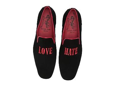 Jeffery-West Martini Love Hate Loafer (Black) Men