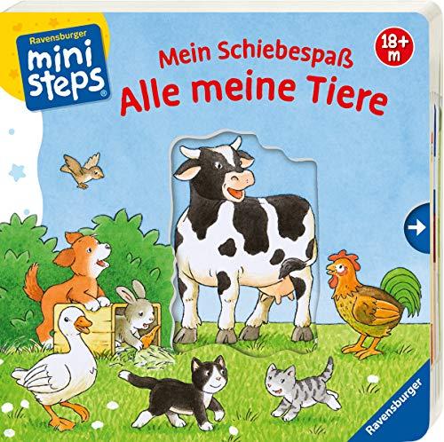 Mein Schiebespaß: Alle meine Tiere: Ab 18 Monaten (ministeps Bücher)