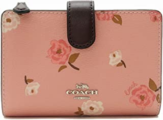 [コーチ] COACH 財布 二つ折り財布 レディース 花柄 ピンク 67530SVERE [アウトレット品] [並行輸入品]
