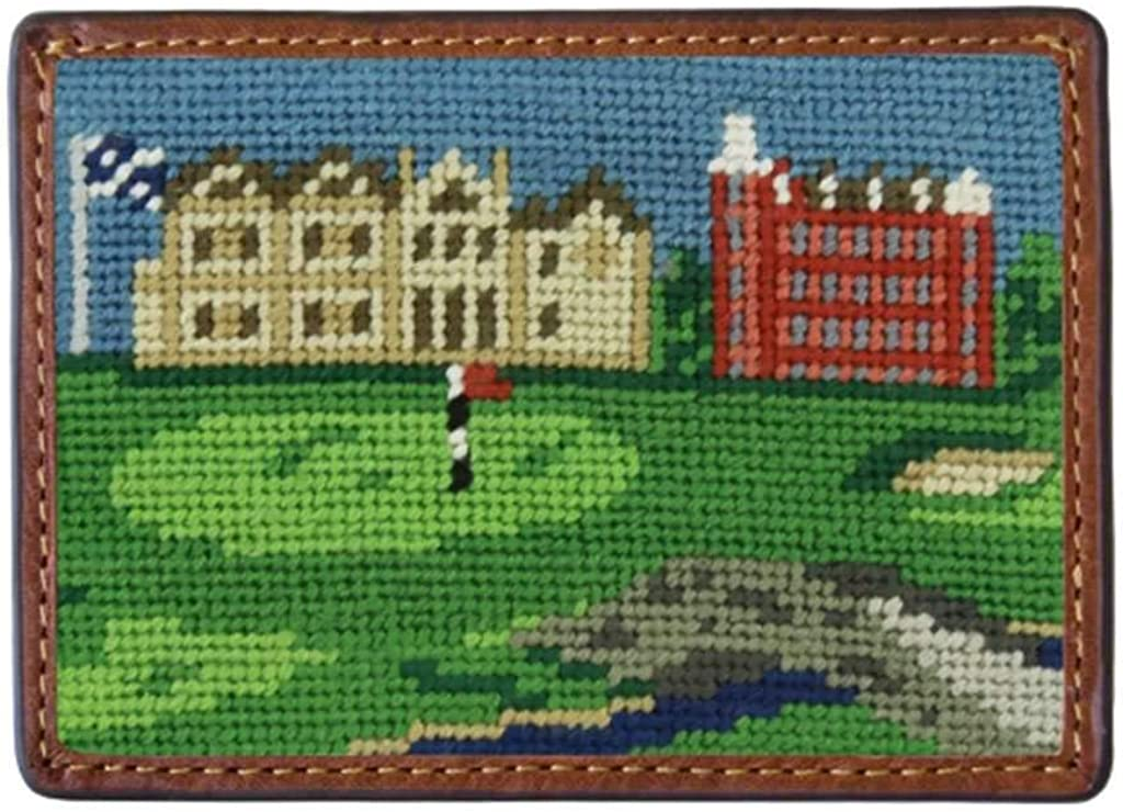 St Andrews Scene Needlepoint Credit Max List price 54% OFF Smathers Br Card by Wallet