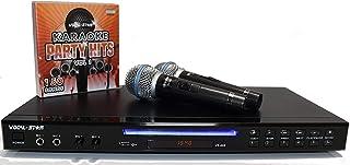 Vocal-Star VS-600 Black HDMI CDG DVD Karaoke Machine, 2 Pin