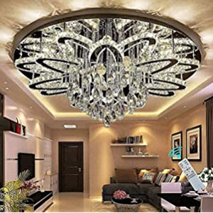 32inches Chanderlier Lights for Living Room Large Chandeliers Bedroom Flush Chandeliers Modern Crystal Fixtures for Living Room Foyer Dining Room Hallway Bedroom Interior Luxury Ligting