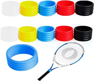 Squash Racket 5x Rubber Grip Bands for Tennis Racquet Fishing Pole to Hold