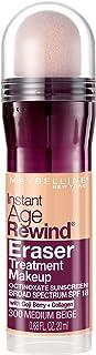 Maybelline New York Instant Age Rewind Eraser Treatment Makeup, Medium Beige, 0.68 fl. oz.