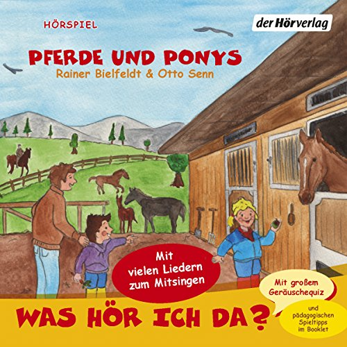 Pferde und Ponys (Was hör ich da?) Titelbild