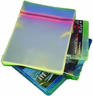 CUIDATUMUSICA Fundas para BLU-Ray y Juegos PS3 con Autocierre Adhesivo -Anchas- Pack de 50 / Ref.4002