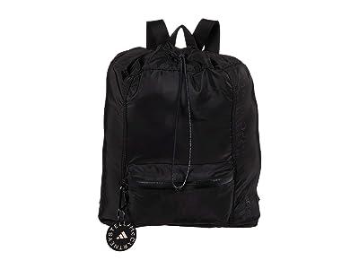 adidas by Stella McCartney Gym Sack Backpack FS6650 (Black/Black/White) Backpack Bags