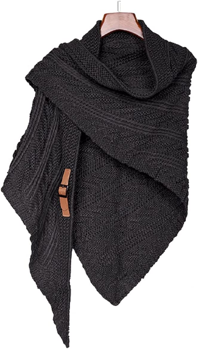 YAZHUANG8 Houston Mall Shawl Sales Wraps for Women Wool Outer Women's Knitted