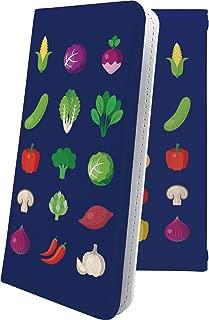 X02HT ケース 手帳型 野菜 ブロッコリー キャベツ 焼き芋 スマイル ニコちゃん エックスエイチティー 手帳型ケース ユニーク おもしろ おもしろケース x01 ht 和柄 和風 日本 japan 和