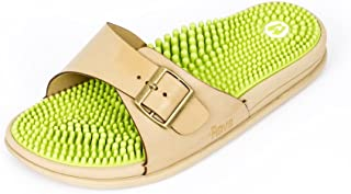 Revs Premium Acupressure & Reflexology Massage Sandals for Ladies. Shock Absorbing, Cushion Comfort & Arch Support.