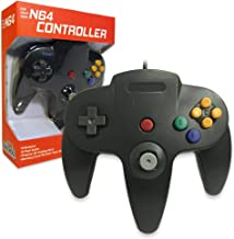 Old Skool Classic Wired Controller Joystick for Nintendo 64 N64 Game System - Black