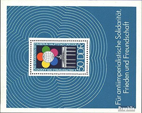 Prophila Collection DDR Block38 (kompl.Ausgabe) 1973 Weltfestspiele (Briefmarken für Sammler)