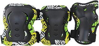 schoner FID ,保护膜套装适用于 in-line 滑冰刹车片适用于手部膝盖,肘部 (xs-m)