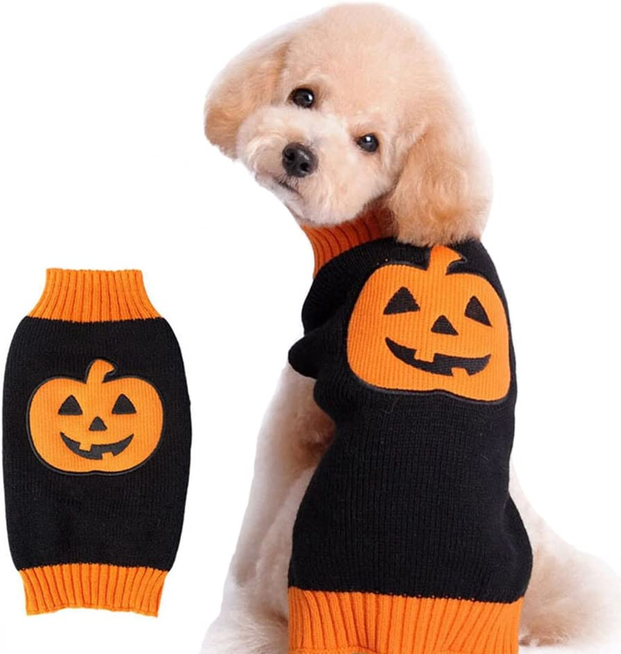 NACOCO Dog Sweater Pumpkin Pet Sweaters Party Holiday Cheap Max 57% OFF mail order sales Halloween