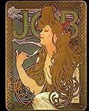 Job (Alphonse Mucha) Notebook/Journal: 8