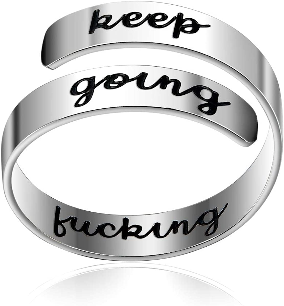 Bestill Adjustable Industry No. 1 Super sale period limited Ring Keep Personalized Going Jewelry Fucking