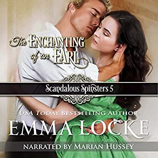 The Enchanting of an Earl audiobook cover art
