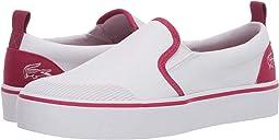 White/Dark Pink