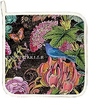 Michel Design Works Cotton Potholder, Botanical Garden
